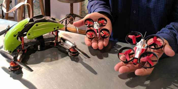DR1 racing micro drone