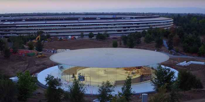 Teatro Steve Jobs en el Campus de Apple