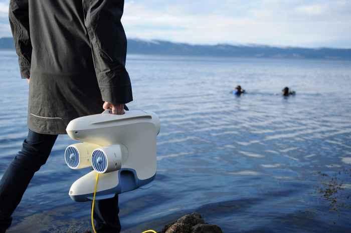 drone submarino Blueye Pioneer