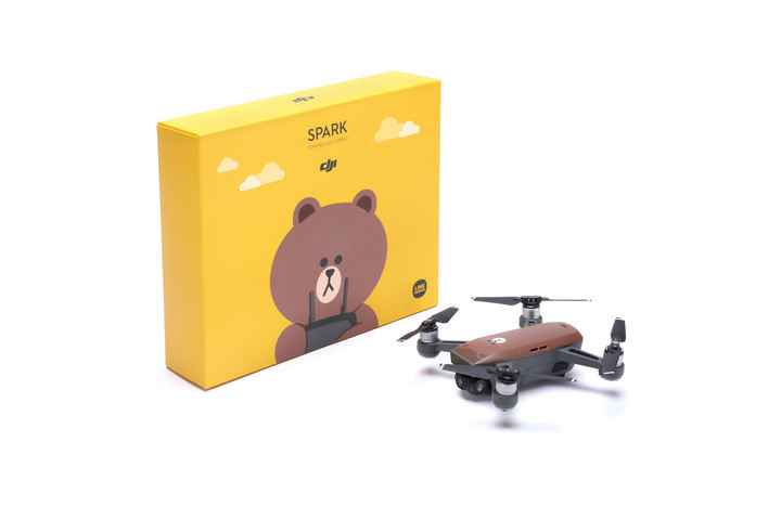 DJI Spark oso Brown