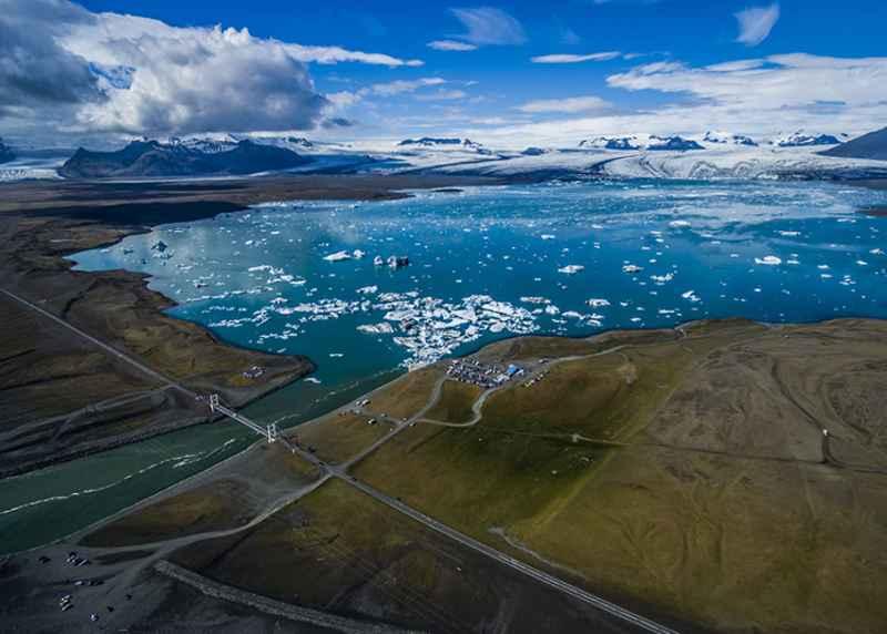 Lago glacial Jökulsárlón