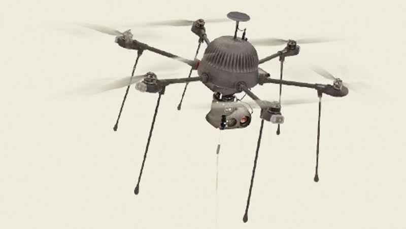drone Comunicaciones Persistentes de Reconocimiento Aéreo (PARC)