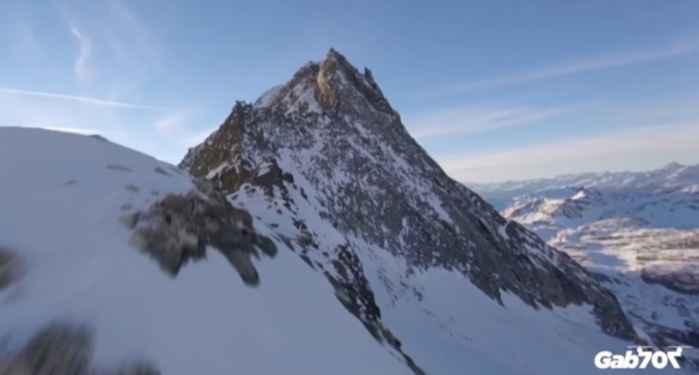 sobrevuelo sobre los Alpes
