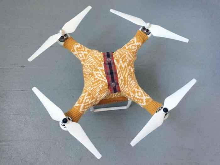 sueter para drone
