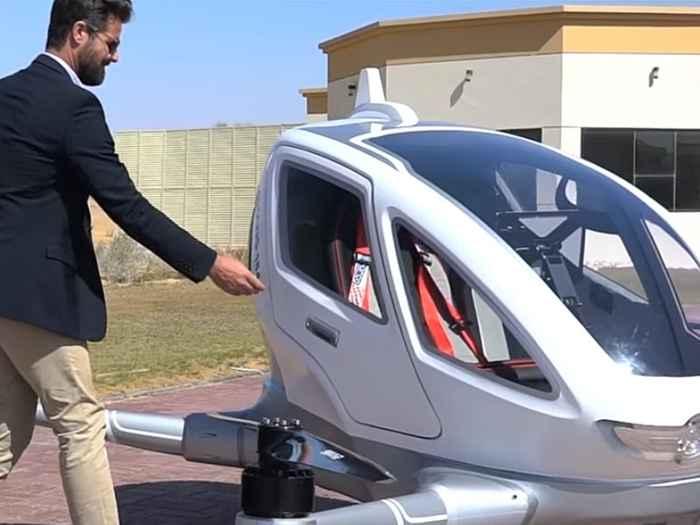 taxi drone de Dubai